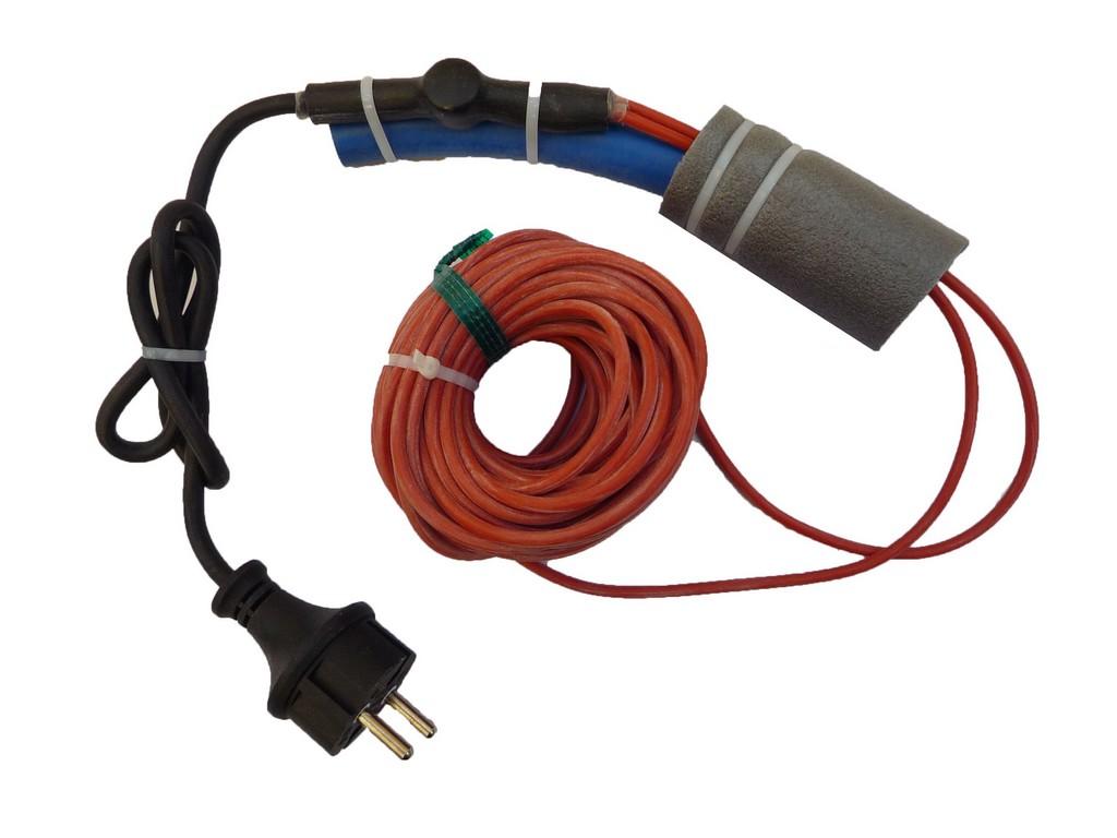 Exemple d'utilisation câble chauffant